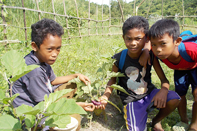 フィリピン サンバレス州イバに秀明自然農法のファームが開かれる